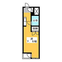 ESPACE A[2階]の間取り