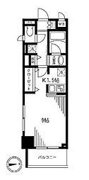 コンフォータブル[5階]の間取り