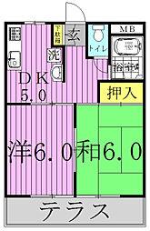 IKI梅郷[1階]の間取り