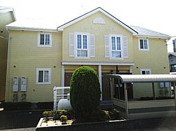 滋賀県栗東市野尻の賃貸アパートの外観