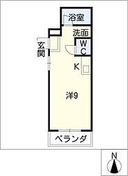 第2幸村ビル[1階]の間取り