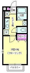 ヴェルデ七里ガ浜II[1階]の間取り