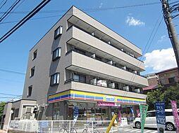 埼玉県川口市中青木2丁目の賃貸マンションの外観