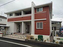 愛媛県松山市余戸東1丁目の賃貸アパートの外観