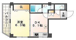 兵庫県神戸市垂水区坂上2丁目の賃貸マンションの間取り