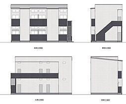アパートメント友丘[202号室]の外観