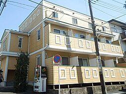 神奈川県横浜市青葉区美しが丘5丁目の賃貸アパートの外観