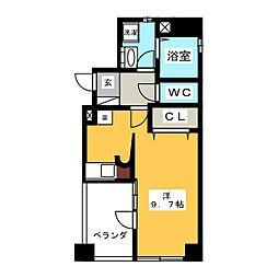 アーバンポイント新栄[6階]の間取り