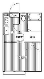 フォーブル奥田[2階]の間取り