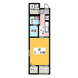 ウインド フィル[1階]の間取り