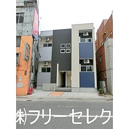福岡県福岡市博多区銀天町1丁目の賃貸アパートの外観
