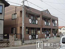 愛知県豊田市広川町8丁目の賃貸アパートの外観