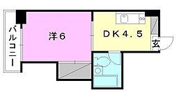 ジョイア壱番館[505 号室号室]の間取り