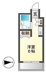 メゾン・ド・シャンテ[3階]の間取り