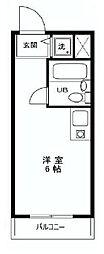 東京都葛飾区東四つ木4の賃貸マンションの間取り