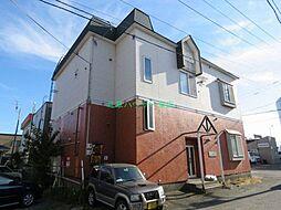 北海道札幌市東区北三十三条東1丁目の賃貸アパートの外観