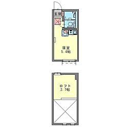 フェリーチェ生田[0206号室]の間取り