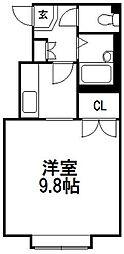 ロアール新札幌C[105号室]の間取り