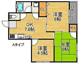 大塚マンション[3階]の間取り