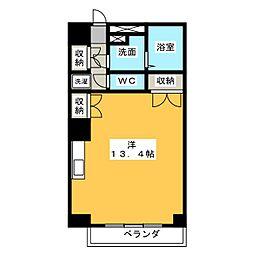 アロンノーブルII[2階]の間取り