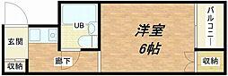メゾン関目[1階]の間取り