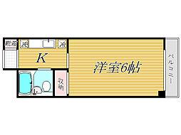 キャッスル雅[2階]の間取り