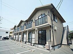 静岡県浜松市北区初生町の賃貸アパートの外観