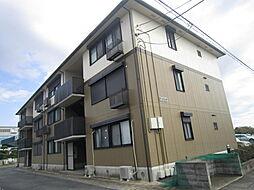 茨城県ひたちなか市大字堀口の賃貸アパートの外観