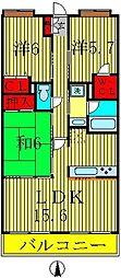 インシュランスビルディング XI[102号室]の間取り