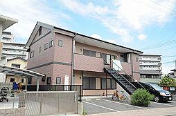 福岡県北九州市小倉北区平松町の賃貸アパートの外観