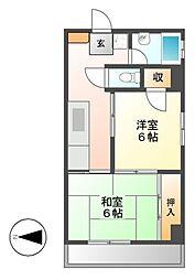 新日本ビル[3階]の間取り
