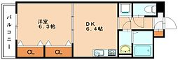 メルカーサ香華[3階]の間取り