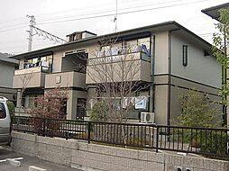 京都府京都市山科区御陵荒巻町の賃貸アパートの外観