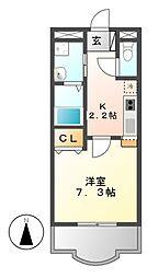 セレス大須[6階]の間取り
