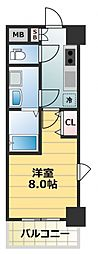 S-RESIDENCE緑橋Serio[8階]の間取り