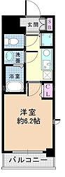 JR東海道・山陽本線 新大阪駅 徒歩7分の賃貸マンション 5階1Kの間取り