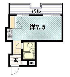 ファーストホーム川崎[5階]の間取り