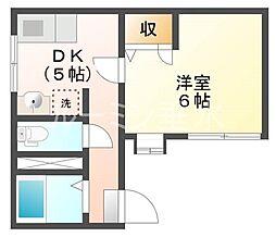 サニーパレス伊川谷[3階]の間取り