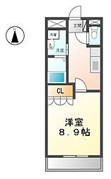 フローラル[1階]の間取り