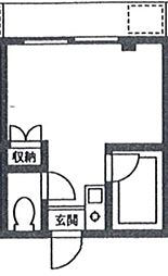 東京都江戸川区西瑞江4丁目の賃貸マンションの間取り
