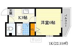 BellKip4階Fの間取り画像