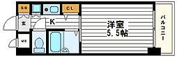 大阪府大阪市天王寺区下寺町2丁目の賃貸マンションの間取り