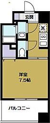 ラカージャ[5階]の間取り