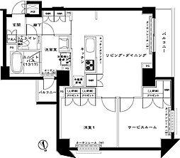 ルーブル赤羽西[1階]の間取り