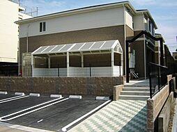 愛知県名古屋市守山区城土町の賃貸アパートの外観