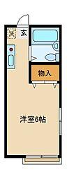 サンヴェール戸塚[2階]の間取り