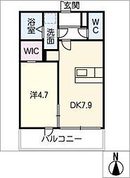 仮)ファミリーステージ八田[1階]の間取り