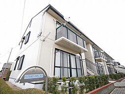 岡山県岡山市東区可知2丁目の賃貸アパートの外観