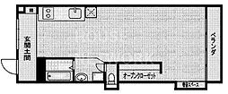 双和苑[502号室号室]の間取り