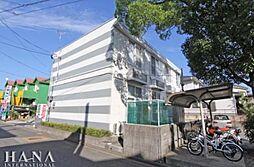 埼玉県八潮市八潮8丁目の賃貸アパートの外観